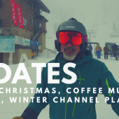 Updates: Merry Christmas, Coffee Mug Winner, Channel Plans & Alta Skiing!