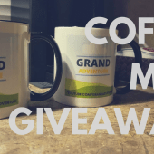 Grand Adventure coffee mug giveaway!