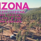 Episode 3: Flagstaff/Sedona AZ, Sunset Crater, Wupatki, Grand Canyon