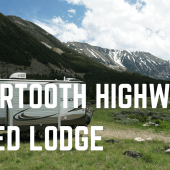 Episode 45: Beartooth Highway & Red Lodge | RV travel Montana camping