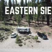 Episode 56: Eastern Sierra | RV travel California camping hiking kayaking