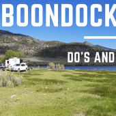 Episode 84: 10 Boondocking Do's and Don'ts