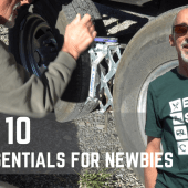 Episode 107: Top 10 RV Essentials for Newbies | RV camping gear how-to