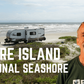 Ep. 122: Padre Island National Seashore | Texas RV travel camping
