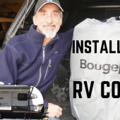Ep. 129: Installing a BougeRV RV Cover | review tips tricks how-to