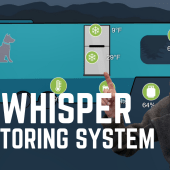 Ep. 183: RV Whisper | Remote Monitoring System | test install review | pet safety