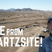 Ep. 186: Live From Quartzsite! | RV travel camping Arizona RVlife fulltime
