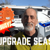 Ep. 194 RV Upgrade Season | RV camping how-to DIY solar lithium safety