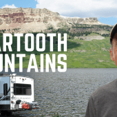 Ep. 211: Beartooth Mountains | Montana RV travel camping kayaking
