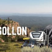 Ep. 222: Mogollan Rim | Payson Arizona RV travel camping