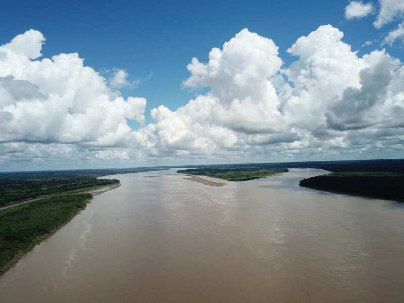 The Official Start of The Amazon River is at the intersection of Maranon and Ucayali Rivers