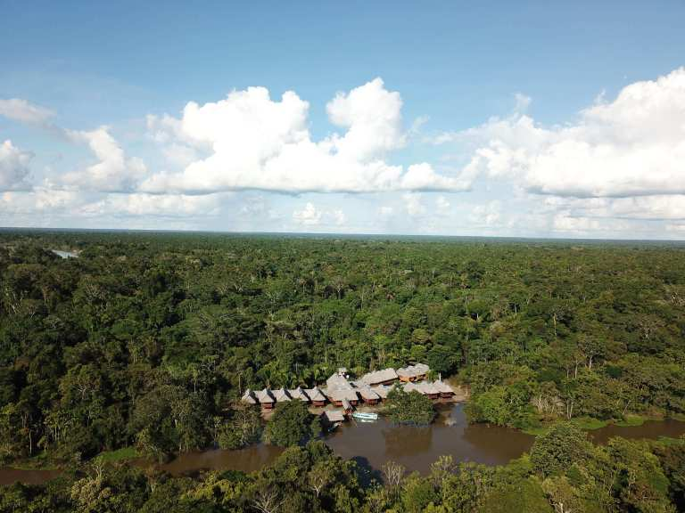 Grand Amazon Lodge in Tamshiyacu Tahuayo Communal Reserve