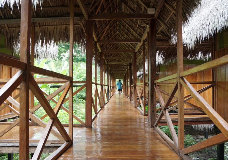 Grand Amazon Lodge Walkway