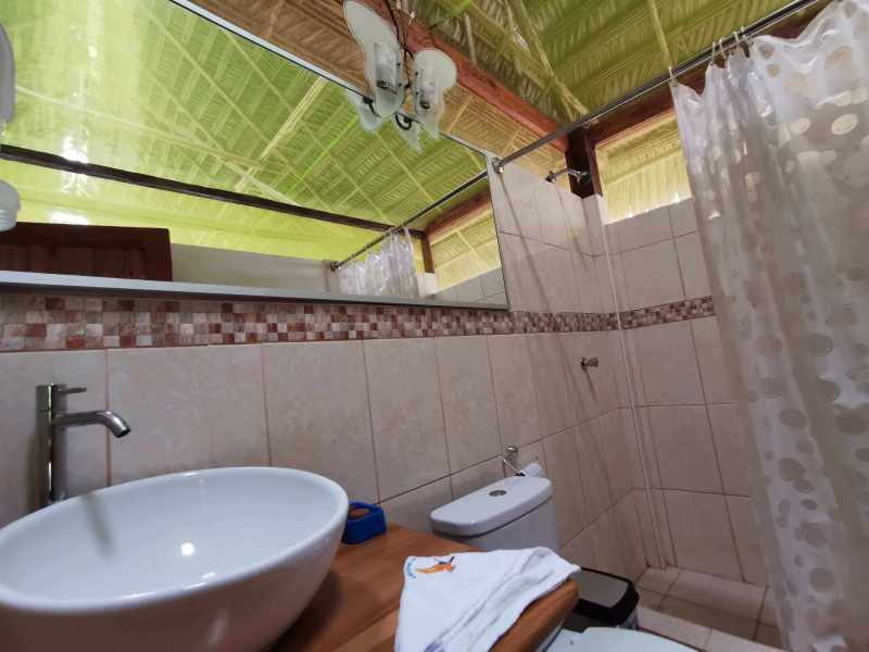 Baño de Grand Amazon Lodge, anteriormente Amazon Discovery Lodge