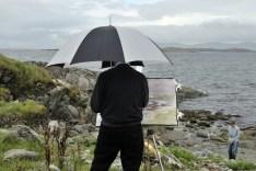 Peintre à Renvyle Irlande 2008-Laurent Multon