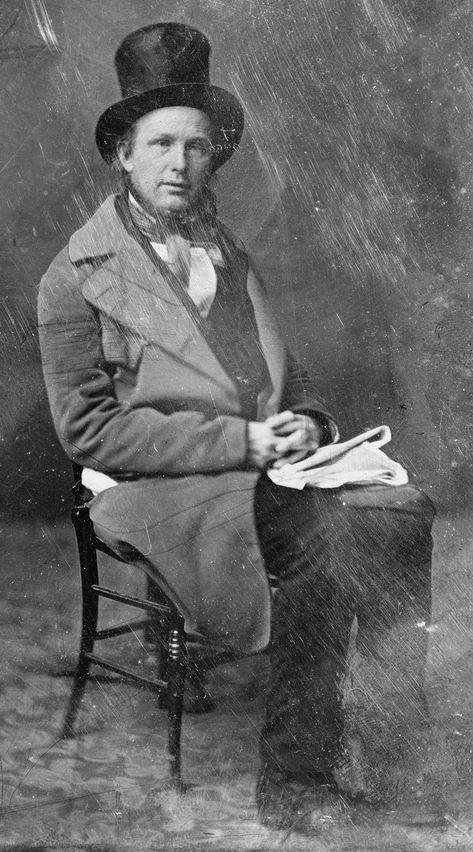 Horace Greeley in 1860