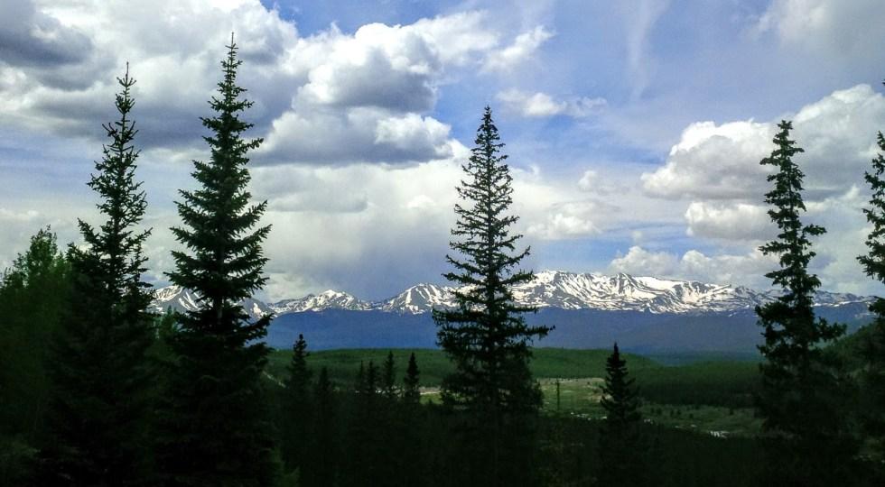 Rocky Mountains near Leadville, CO