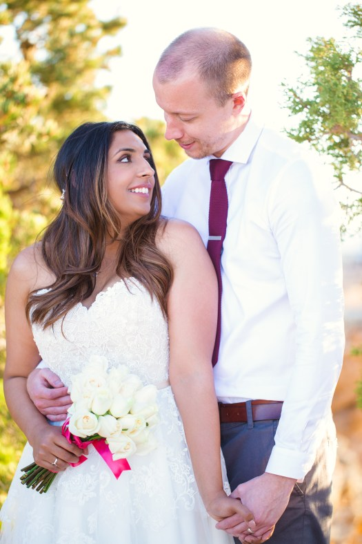 grand canyon wedding packages elopement las vegas wedding lipan point bride and groom