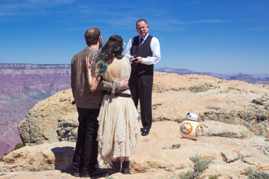 grand canyon wedding packages star wars elopement lipan point (10)