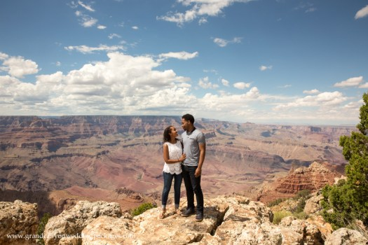 Grand Canyon Wedding Packages Summer Engagement Lipan Point
