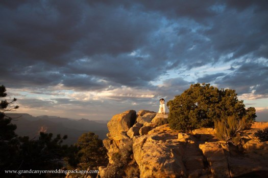 Grand Canyon Wedding Packages Fall Elopement at Lipan Point