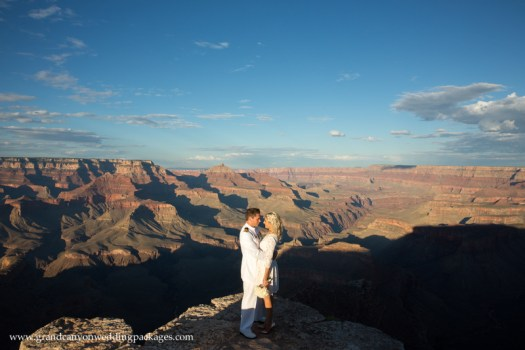 Grand Canyon Wedding Package Shoshone Point