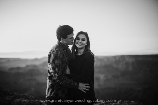 Grand Canyon Wedding Packages Winter Proposal
