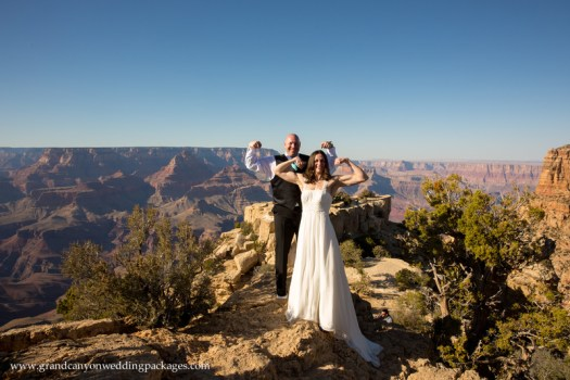Grand Canyon Wedding Packages Moran Point