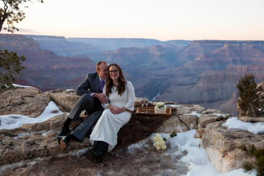 grand canyon wedding locations pima point
