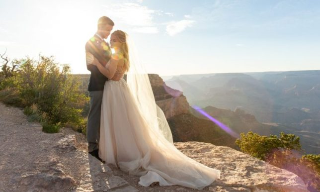 elopement at the Grand Canyon