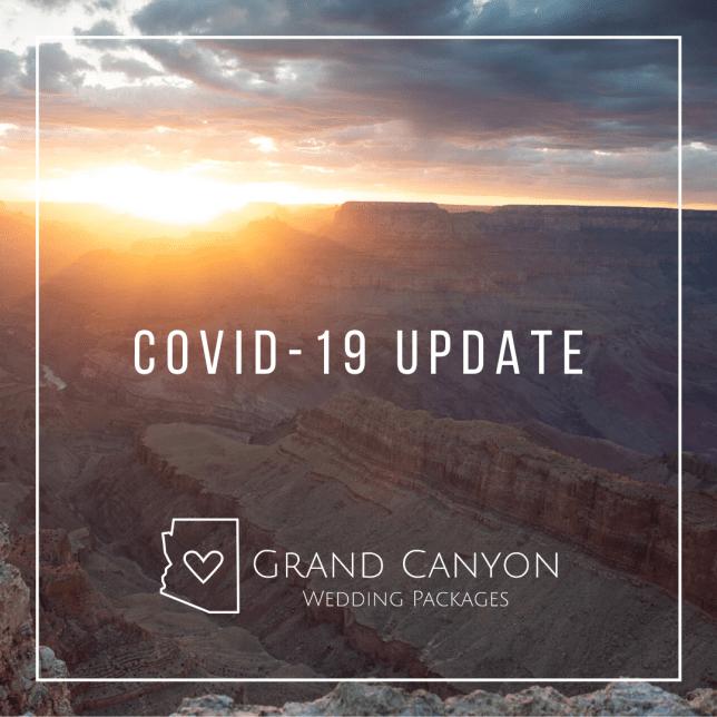 grand canyon weddings covid19