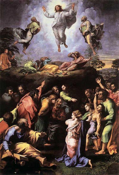 THE TRANSFIGURATION Vatican Gallery, Rome