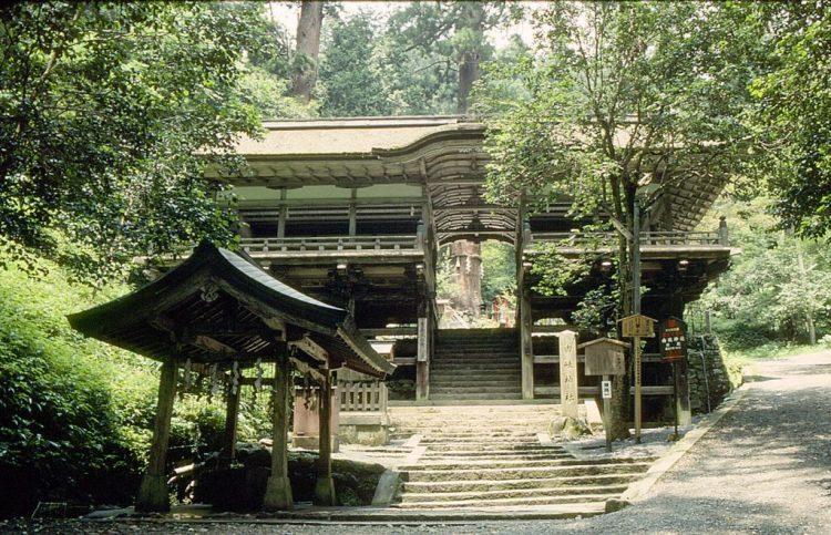 Tempio di Kurama-dera Giappone dove ebbe i simboli Reiki