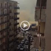 Incendio al Vomero