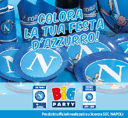 Big Party - Colora la tua festa d'azzurro
