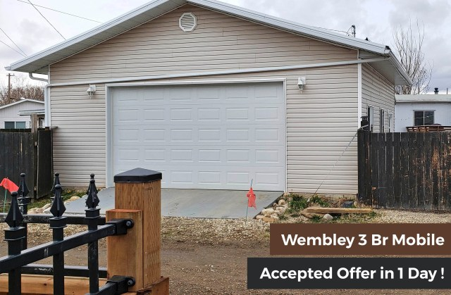 Wembley Mobile Home Sold