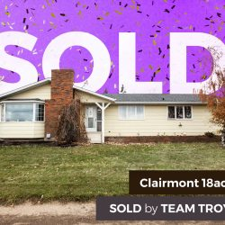 Clairmont Acreage Sold by Team Troy Irvine