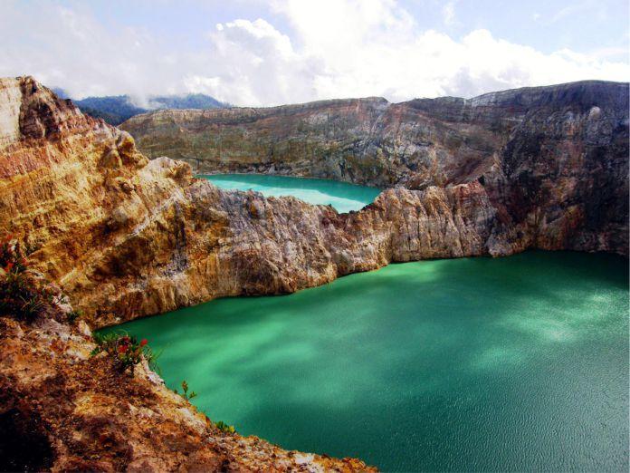 Monte Kelimutu - 29 de los paisajes más surrealistas de nuestro hermoso planeta
