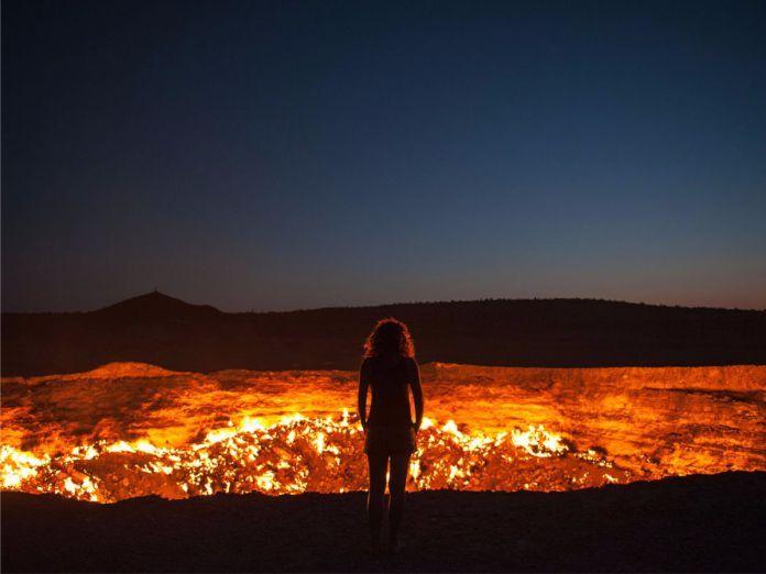 Pozo de Darvaza - 29 de los paisajes más surrealistas de nuestro hermoso planeta