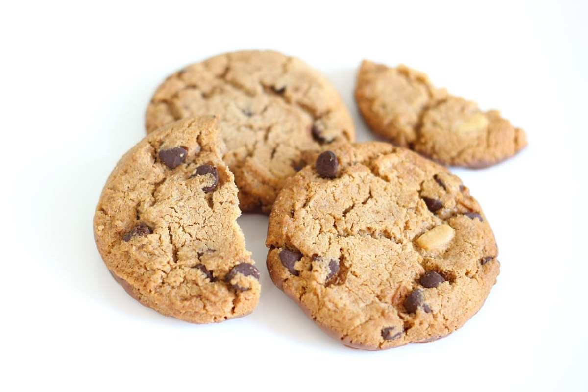 Azúcar en las galletas