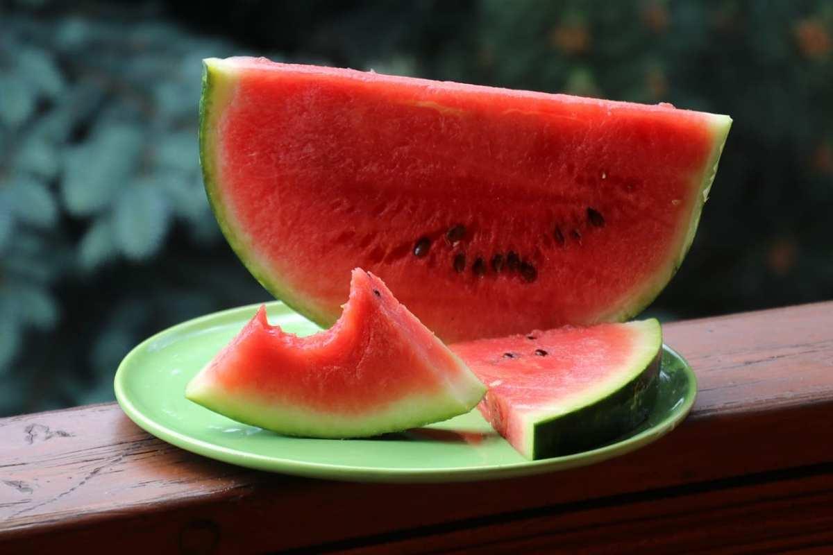 mejores alimentos contra el calor sandía