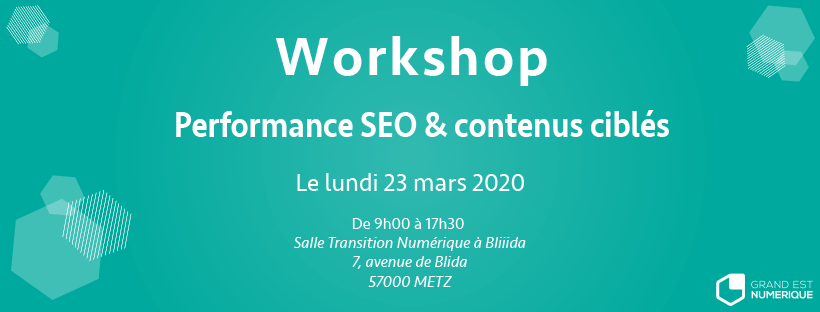 workshop SEO DDP