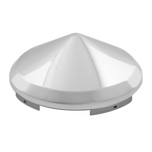 """Chrome Plated ⁷∕₁₆"""" Cone Universal Front Hub Cap"""