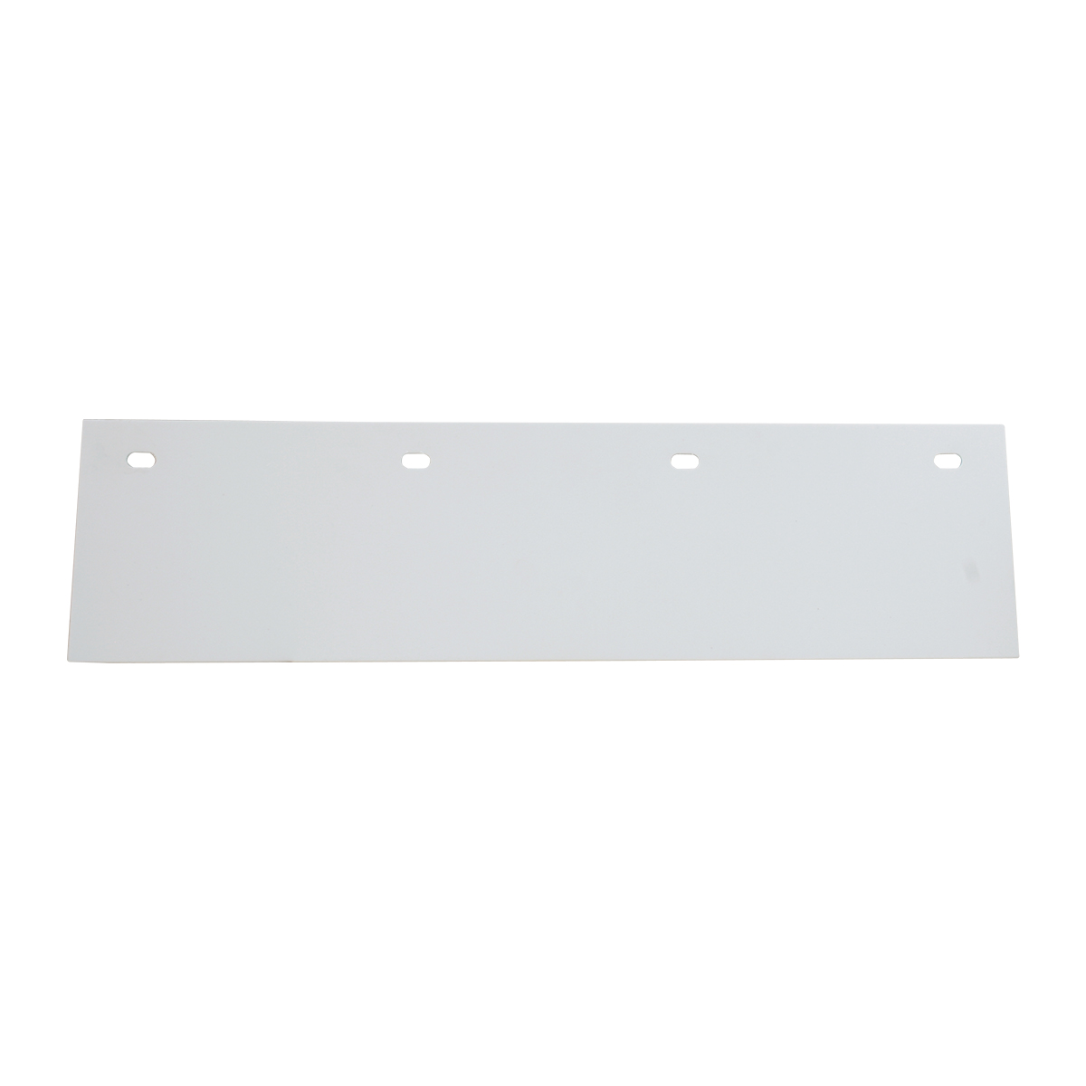Poly Top Mud Flap – White
