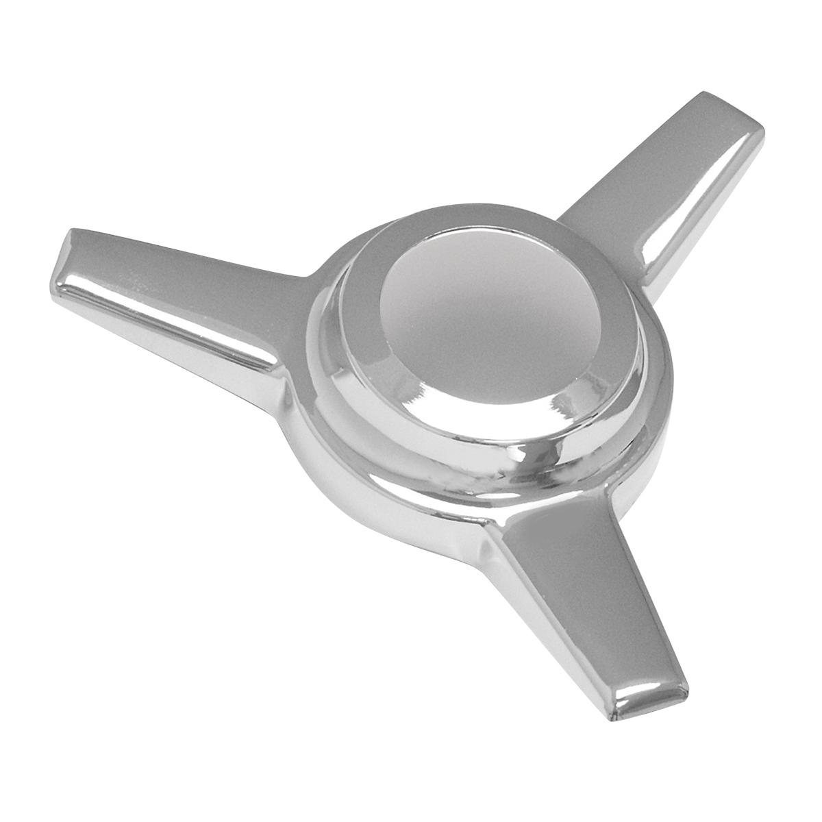 Chrome Die Cast Knock – Off Spinner 3 Bar – Straight