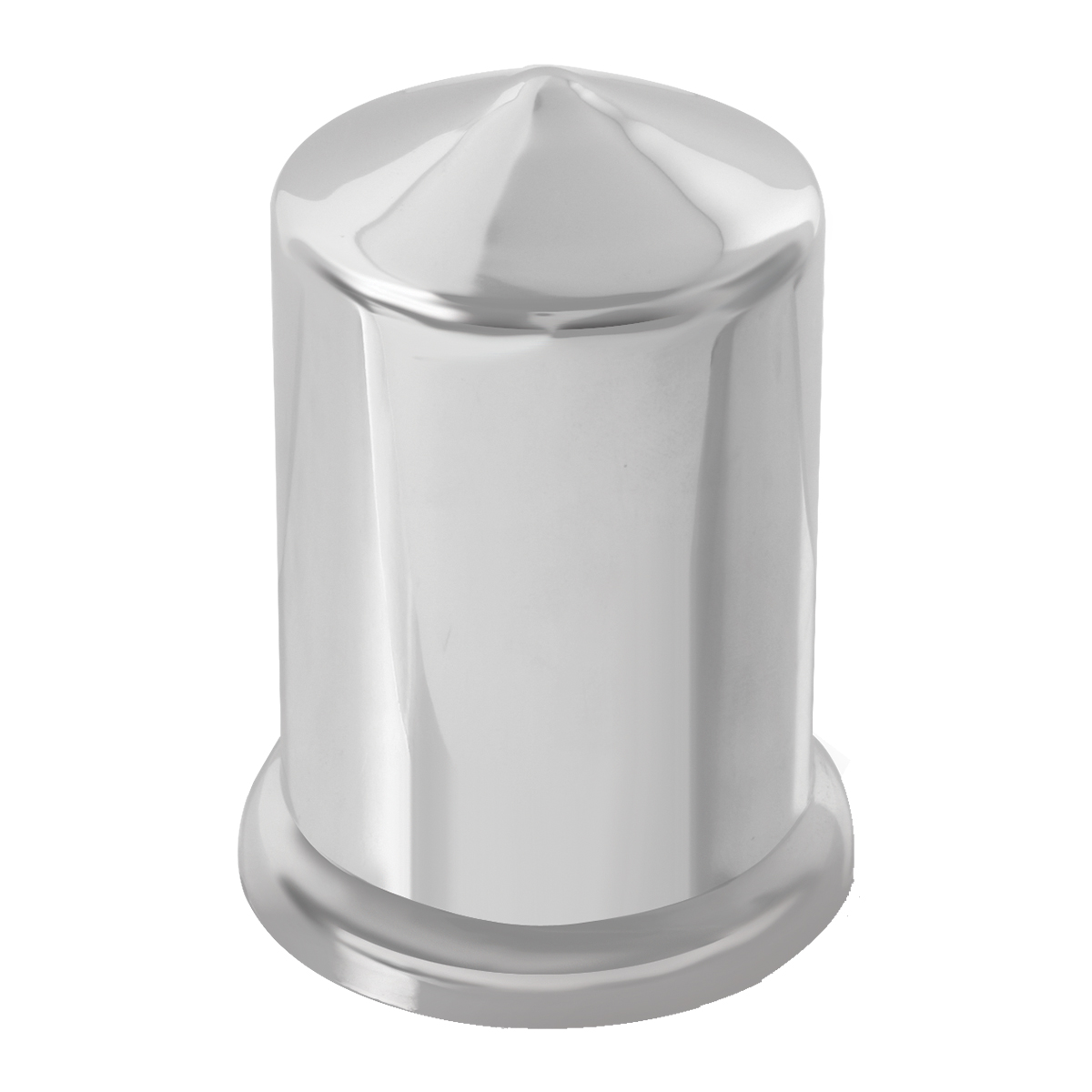 GG Grand General 10411SP 30mm X 2 Inches Chrome Lug Nut Cover with Flange Set of 10