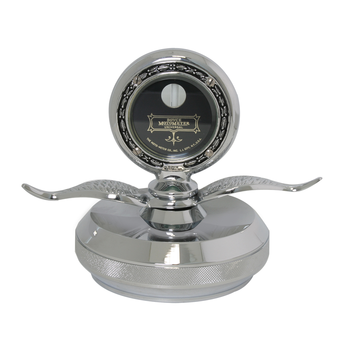Grand General 48262 Chrome Motometer Hood Ornament