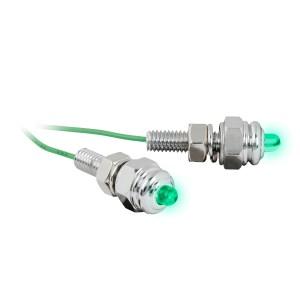 LED Screw Light Fastener Set – Green