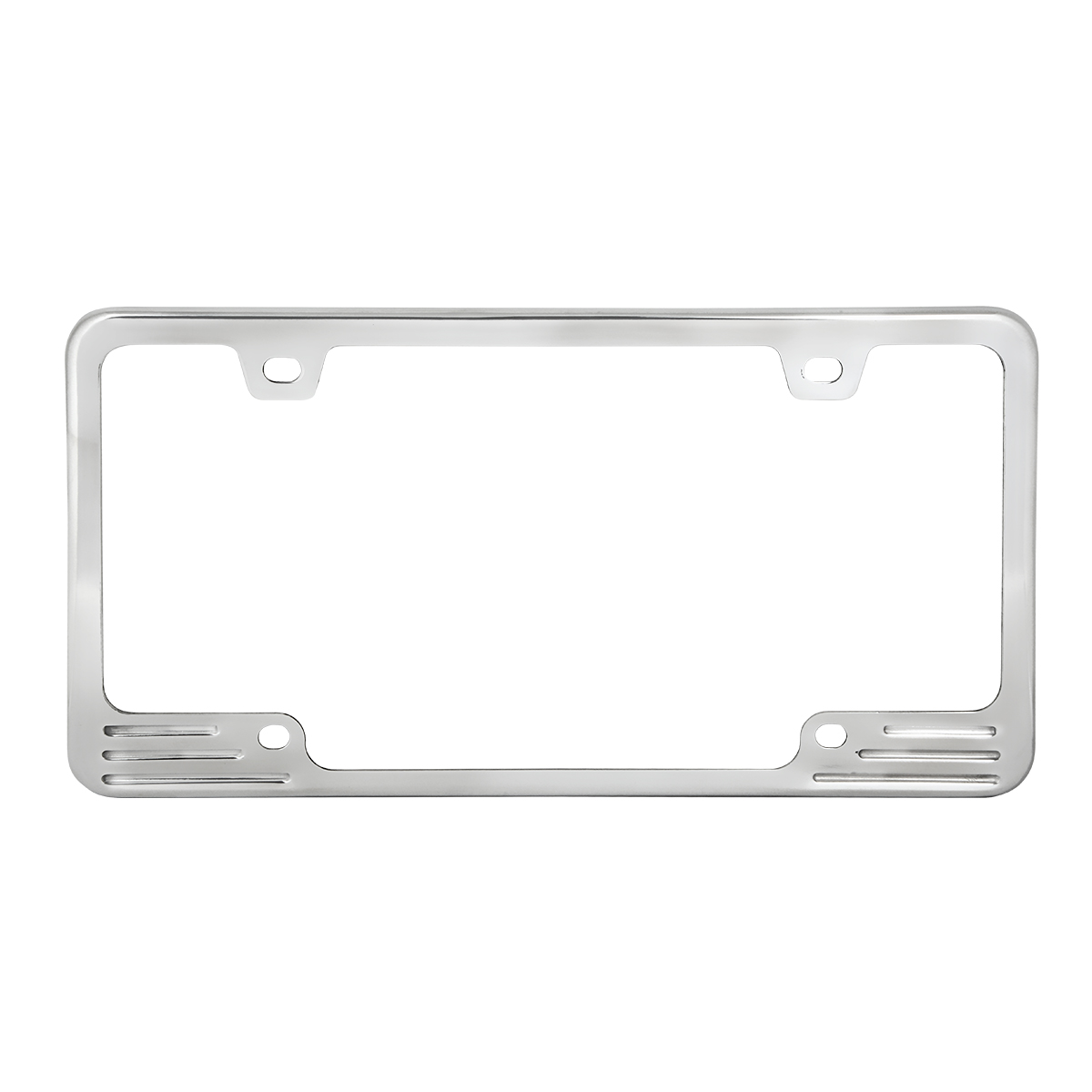Aluminum License Plate Frames - Grand General - Auto Parts ...