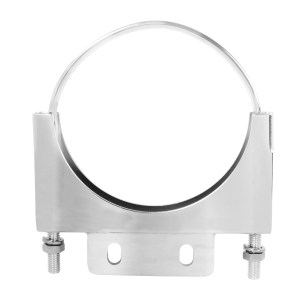 Chrome Cab Mounting Clamps for Peterbilt - Type D